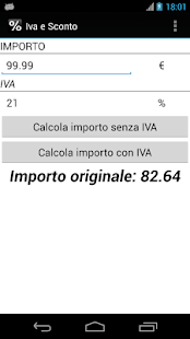 IVA e Sconto - screenshot thumbnail