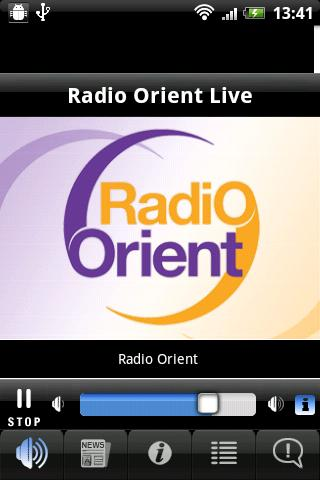 Radio Orient- screenshot