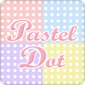 Pastel color dot Livewallpaper icon
