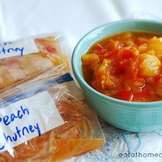 Slow Cooker Peach Chutney You Can Store in the Freezer