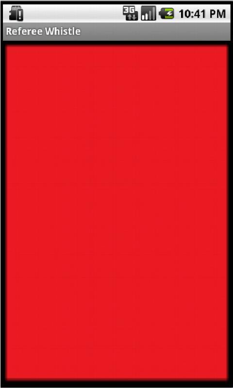 Referee Whistle - Free Edition - screenshot