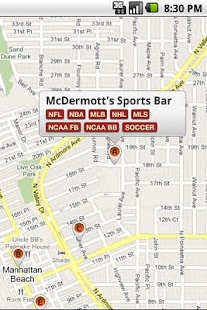 Sports Bar Finder - screenshot thumbnail