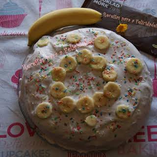 Banana and Chocolate Cake.