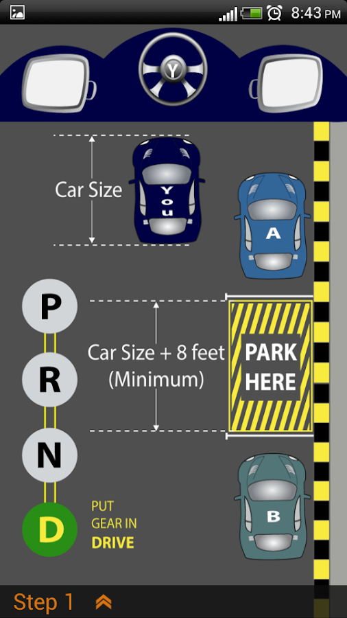 Learn Parallel Parking- screenshot