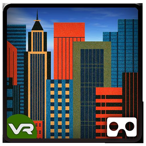 ファンタジー市内観光ツアーVR - トゥーン 冒險 App LOGO-硬是要APP