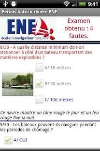 Permis bateau rivière ENF - screenshot thumbnail