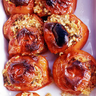 Tomatoes Stuffed with Rice.