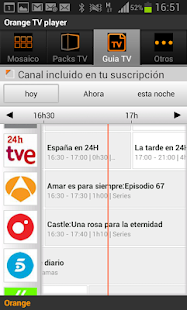 TV móvil - screenshot thumbnail