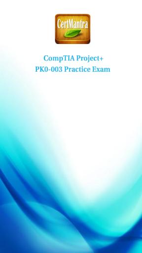 CompTIA Project+ PK0-003 Prep