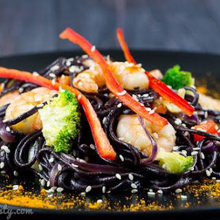 Black Rice Noodles Recipes.