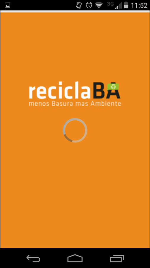 Recicla BA: captura de pantalla