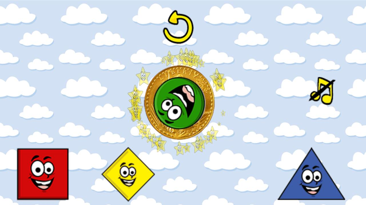 Kids Happy Shapes Game - screenshot
