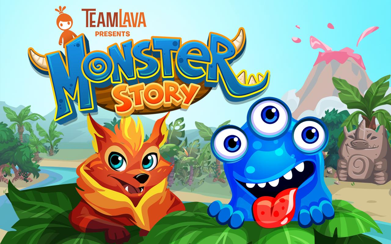 Monster Story by TeamLava™- screenshot