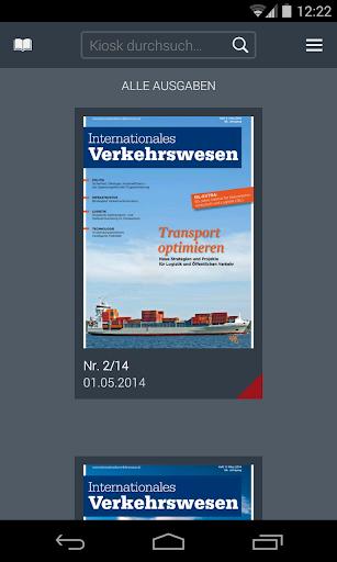 Internationales Verkehrswesen