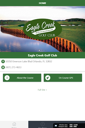 Eagle Creek Golf