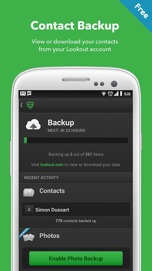 Lookout Security & Antivirus - screenshot