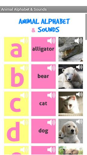 Animal Alphabet and Sounds