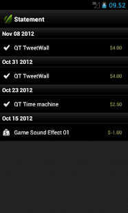 nWallet powered by Envato API - screenshot thumbnail