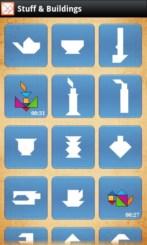 Tangram X - screenshot