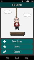 Screenshot of Hangman