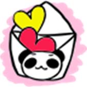 デコレター 顔文字(´∀`)ミニデコ