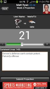 Fantasy Football Predictor '14 - screenshot thumbnail