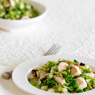 Chicken and Brussels Sprout Salad.