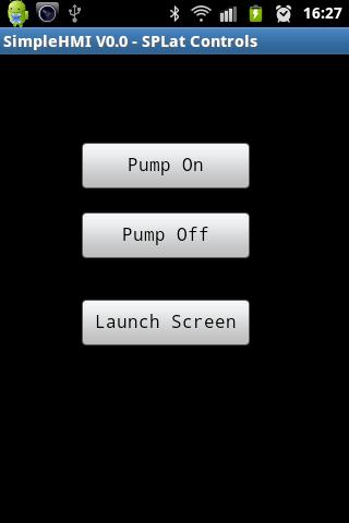 SimpleHMI by SPLat- screenshot