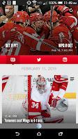 Screenshot of Detroit Red Wings Mobile
