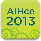 AIHce 2013