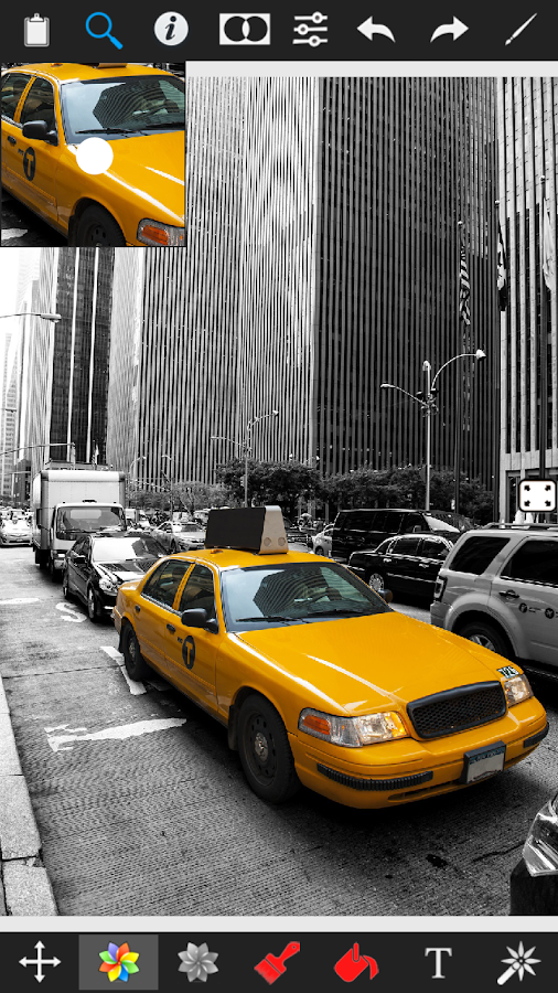 Color Splash Effect Pro - screenshot