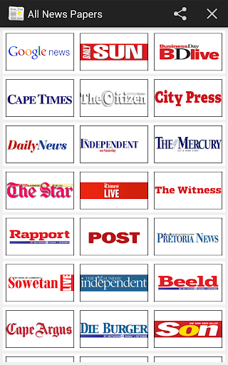 All Newspapers South Africa