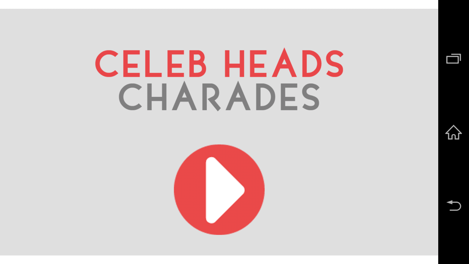 Celeb Heads Up Charades! - screenshot
