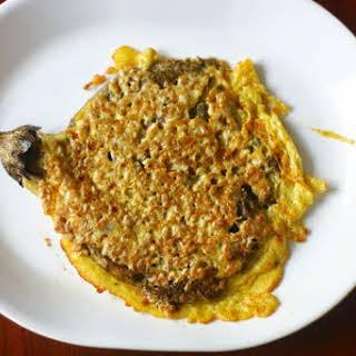 Tortang Talong (Filipino Eggplant Omelet).