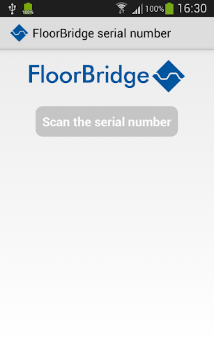 FloorBridge Serial Number