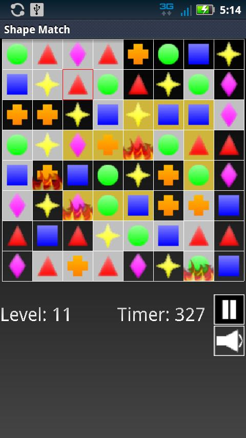 Shape Match - screenshot