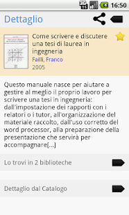 Polimi Library- screenshot thumbnail