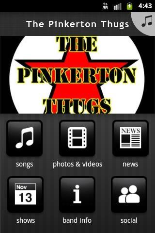The Pinkerton Thugs - screenshot