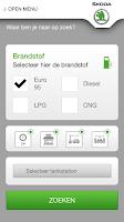 Screenshot of ŠKODA Service app