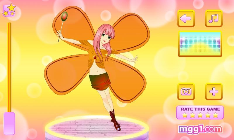 Lovely Autumn Fairy Dress Up - screenshot