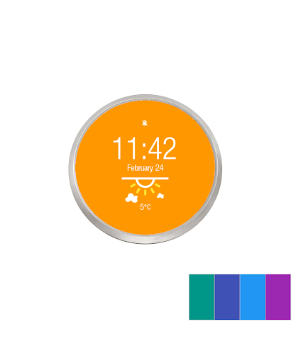 Material Weather - Watchface