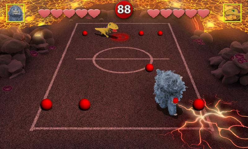 Chompy's Dodgeball Lite - screenshot