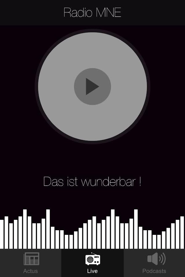 Radio MNE- screenshot