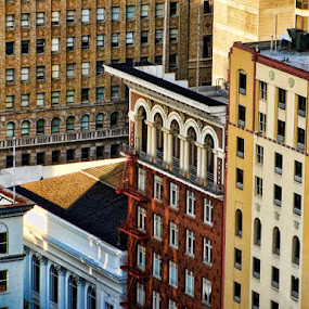 by Dorothy Valine Gram - Buildings & Architecture Office Buildings & Hotels