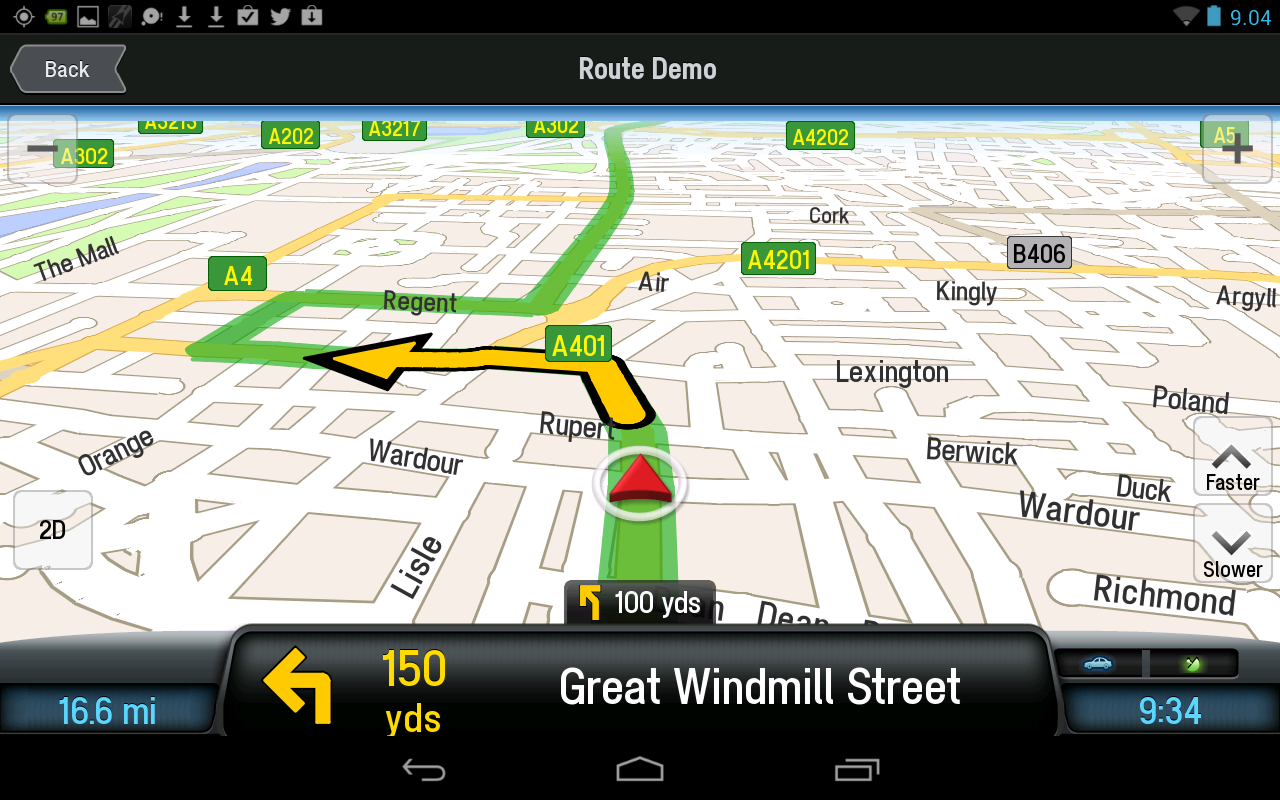 CoPilot UK+ Ireland Navigation- screenshot