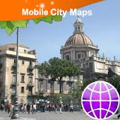 Catania Street Map