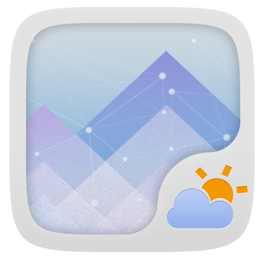 JOKUL THEME GO WEATHER EX 天氣 App LOGO-硬是要APP