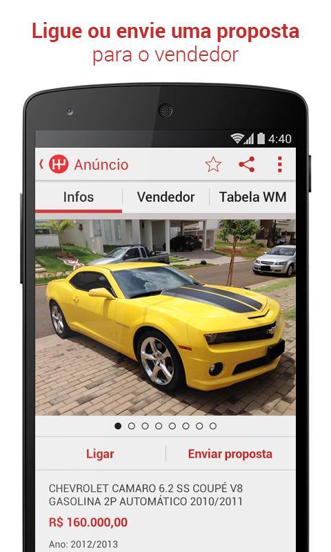 WebMotors - Comprar e Vender - screenshot