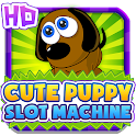 Cute Puppy Slot Machine HD icon