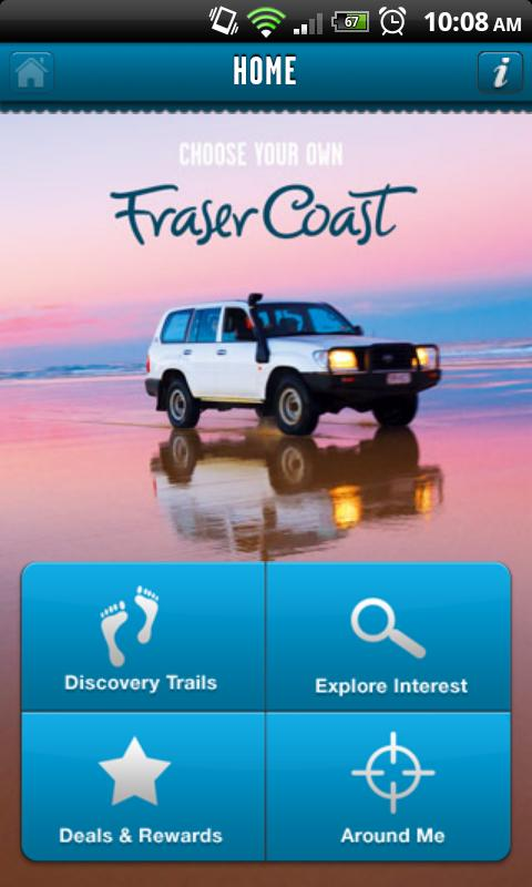 Fraser Coast Trails- screenshot